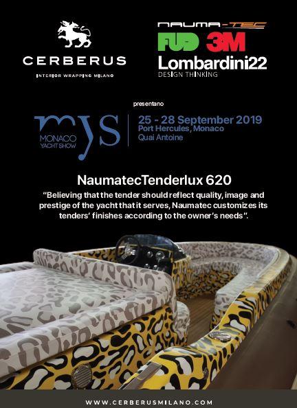 Monaco Yacht show: progetto Naumatec 650