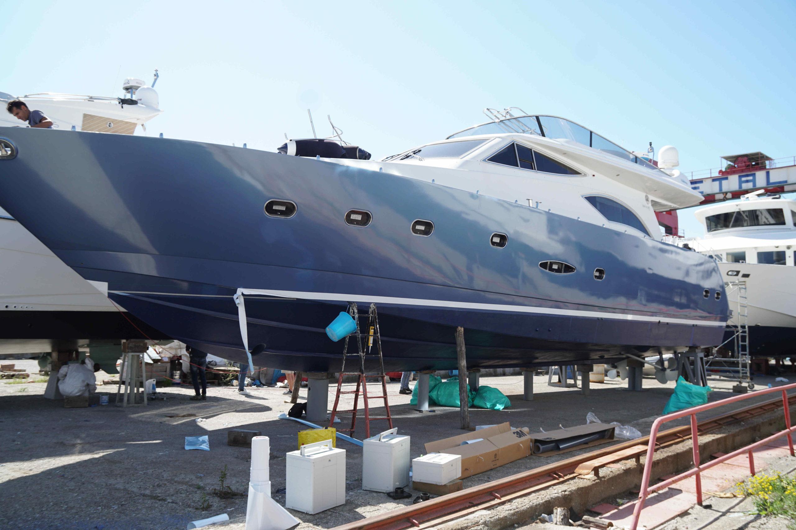 Imperia: Yacht Raffaelli Ontera 70 ft
